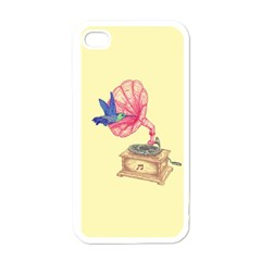 Bird Love Music Apple Iphone 4 Case (white) by Contest1736674