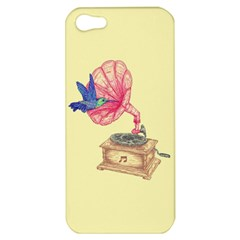Bird Love Music Apple Iphone 5 Hardshell Case by Contest1736674