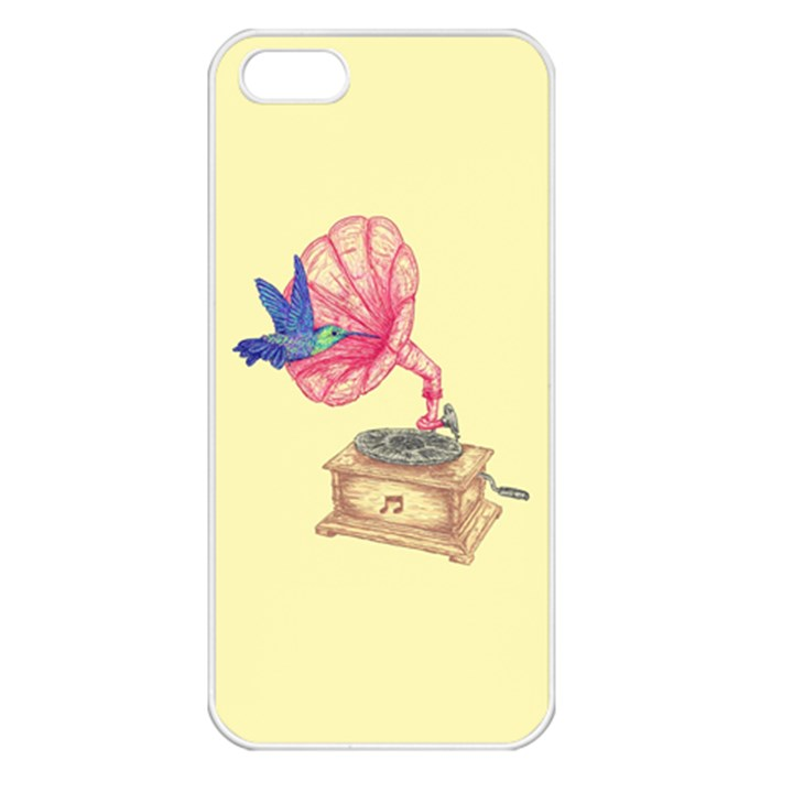 Bird Love Music Apple iPhone 5 Seamless Case (White)