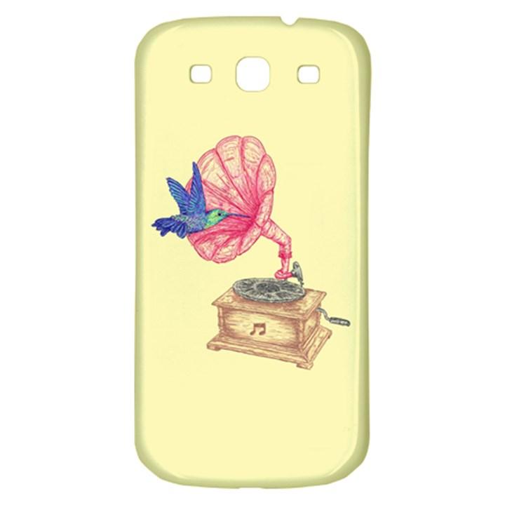 Bird Love Music Samsung Galaxy S3 S III Classic Hardshell Back Case