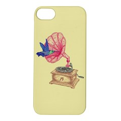 Bird Love Music Apple Iphone 5s Hardshell Case by Contest1736674