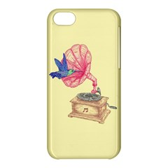 Bird Love Music Apple Iphone 5c Hardshell Case by Contest1736674