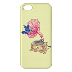 Bird Love Music Iphone 5s Premium Hardshell Case by Contest1736674
