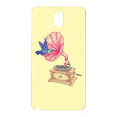 Bird Love Music Samsung Galaxy Note 3 N9005 Hardshell Back Case by Contest1736674