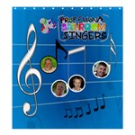 Music large shower curtain #3 - Shower Curtain 66  x 72  (Large)