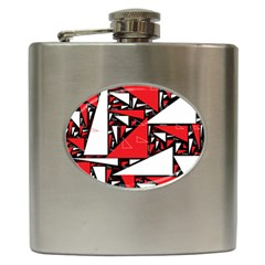 Titillating Triangles Hip Flask by StuffOrSomething