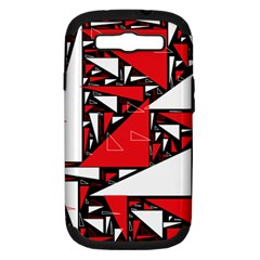 Titillating Triangles Samsung Galaxy S III Hardshell Case (PC+Silicone)