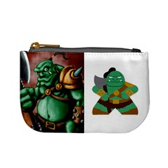 Orcs + Goblins (tek) By Chris Schreiber   Mini Coin Purse   Qc2akds17a7d   Www Artscow Com Front