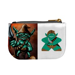 Orcs + Goblins (tek) By Chris Schreiber   Mini Coin Purse   Qc2akds17a7d   Www Artscow Com Back