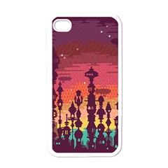 Meet Me After Sunset Apple Iphone 4 Case (white)