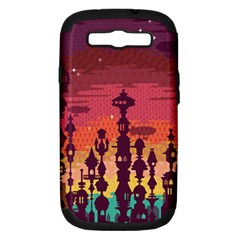 Meet Me After Sunset Samsung Galaxy S Iii Hardshell Case (pc+silicone) by Contest1888822