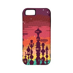 Meet me after sunset Apple iPhone 5 Classic Hardshell Case (PC+Silicone) by Contest1888822