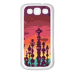 Meet Me After Sunset Samsung Galaxy S3 Back Case (white)