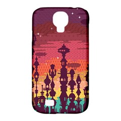Meet me after sunset Samsung Galaxy S4 Classic Hardshell Case (PC+Silicone) by Contest1888822