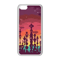 Meet Me After Sunset Apple Iphone 5c Seamless Case (white) by Contest1888822