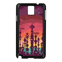 Meet me after sunset Samsung Galaxy Note 3 N9005 Case (Black) by Contest1888822