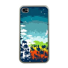 Rainforest City Apple Iphone 4 Case (clear) by Contest1888822