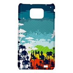 Rainforest City Samsung Galaxy S II i9100 Hardshell Case  by Contest1888822