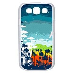 Rainforest City Samsung Galaxy S III Case (White) by Contest1888822