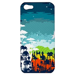 Rainforest City Apple Iphone 5 Hardshell Case by Contest1888822