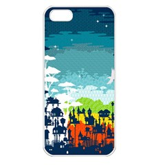 Rainforest City Apple Iphone 5 Seamless Case (white) by Contest1888822