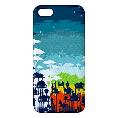 Rainforest City Apple Iphone 5 Premium Hardshell Case by Contest1888822