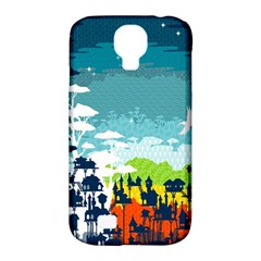 Rainforest City Samsung Galaxy S4 Classic Hardshell Case (pc+silicone) by Contest1888822