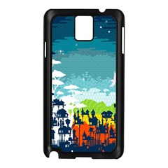 Rainforest City Samsung Galaxy Note 3 N9005 Case (black) by Contest1888822