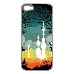 A Discovery In The Forest Apple Iphone 5 Case (silver) by Contest1888822