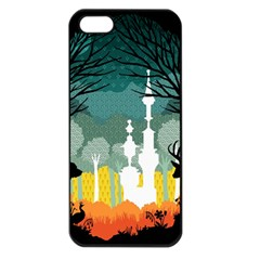 A Discovery In The Forest Apple Iphone 5 Seamless Case (black) by Contest1888822
