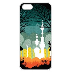 A Discovery In The Forest Apple Iphone 5 Seamless Case (white) by Contest1888822