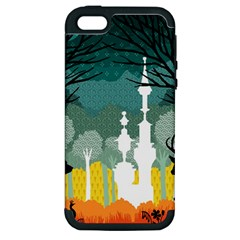 A Discovery In The Forest Apple Iphone 5 Hardshell Case (pc+silicone) by Contest1888822