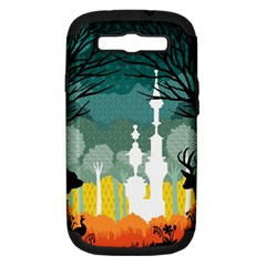 A Discovery In The Forest Samsung Galaxy S Iii Hardshell Case (pc+silicone) by Contest1888822