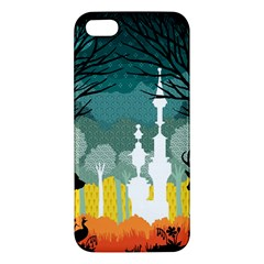 A Discovery In The Forest Apple Iphone 5 Premium Hardshell Case by Contest1888822