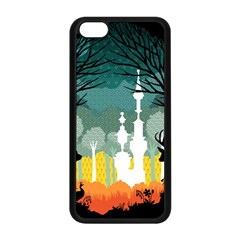 A Discovery In The Forest Apple Iphone 5c Seamless Case (black) by Contest1888822