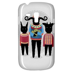 Nightmare Knitting Party Samsung Galaxy S3 MINI I8190 Hardshell Case by Contest1888822