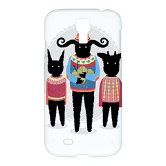 Nightmare Knitting Party Samsung Galaxy S4 I9500/i9505 Hardshell Case by Contest1888822
