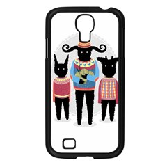 Nightmare Knitting Party Samsung Galaxy S4 I9500/ I9505 Case (Black) by Contest1888822