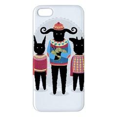 Nightmare Knitting Party Iphone 5s Premium Hardshell Case