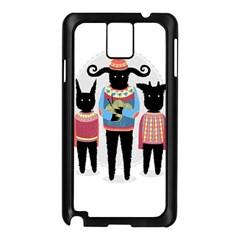 Nightmare Knitting Party Samsung Galaxy Note 3 N9005 Case (Black) by Contest1888822