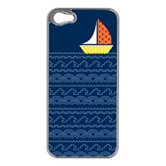 Sail The Seven Seas Apple Iphone 5 Case (silver) by Contest1888822