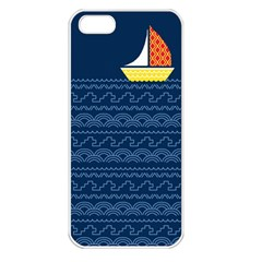 Sail The Seven Seas Apple Iphone 5 Seamless Case (white) by Contest1888822