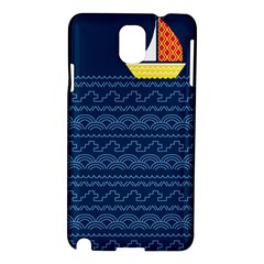 Sail The Seven Seas Samsung Galaxy Note 3 N9005 Hardshell Case by Contest1888822