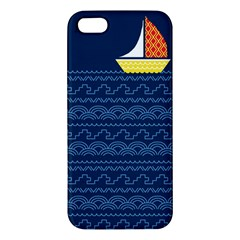 Sail The Seven Seas Iphone 5s Premium Hardshell Case by Contest1888822