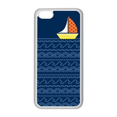 Sail The Seven Seas Apple Iphone 5c Seamless Case (white) by Contest1888822