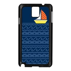 Sail The Seven Seas Samsung Galaxy Note 3 N9005 Case (black) by Contest1888822