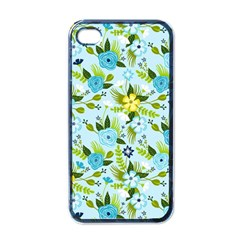 Flower Bucket Apple iPhone 4 Case (Black) by Contest1888822