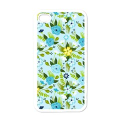 Flower Bucket Apple iPhone 4 Case (White) by Contest1888822