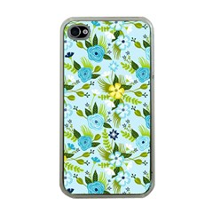 Flower Bucket Apple Iphone 4 Case (clear)