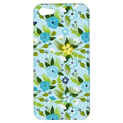 Flower Bucket Apple Iphone 5 Hardshell Case by Contest1888822